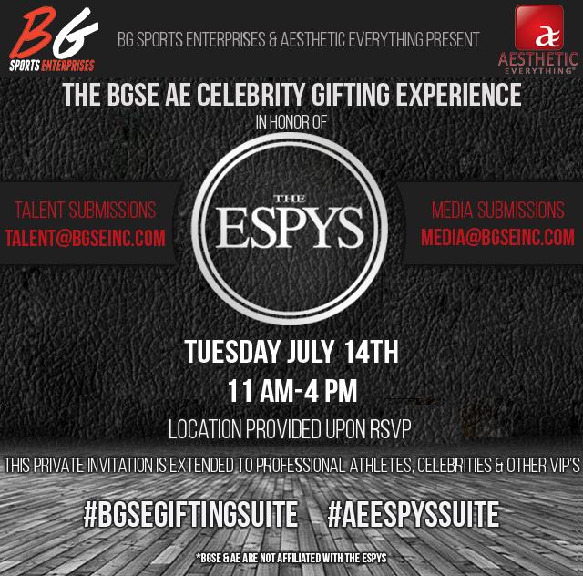 BGSE AE Suite ESPYS 2015