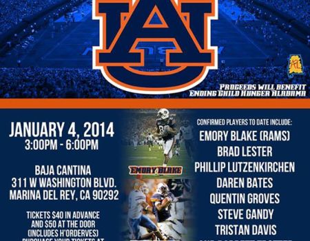 "Auburn Football Alumni Charity Meet & Greet to benefit ""Ending Child Hunger Alabama"""