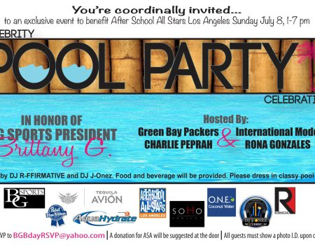 BG Sports Pre-ESPYS Celebrity Charity Pool Party