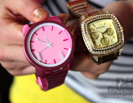 "Sneak Peek at Chad ""Ochocinco"" Johnson's C.O.85 Timepieces"