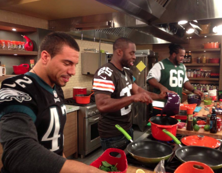 Great episode for the 2014 Superbowl Cookoff!