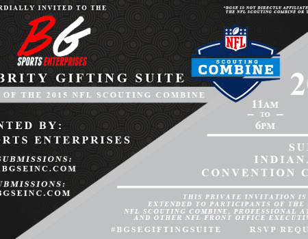BGSE NFL Combine Gifting Suite