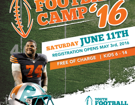 2016 Jermon Bushrod Youth Football Camp