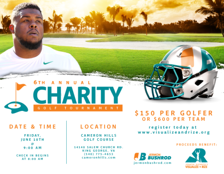 6th Annual Jermon Bushrod Charity Golf Tournament