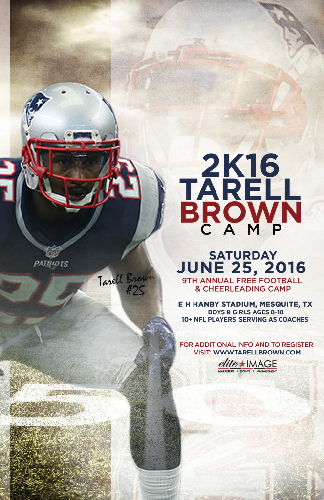 Tarell Brown Poster 2016