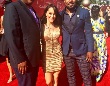 2016 ESPY Awards with Fifth Down-Stacy Elliott & Ezekiel Elliott